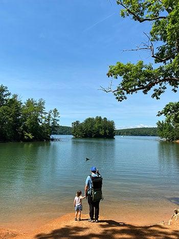 Lake James NC Fonta Flora Trail