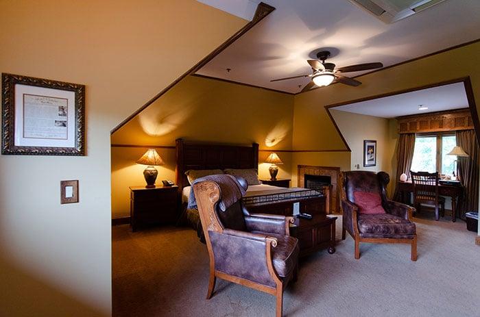 Large room at Chetola Inn