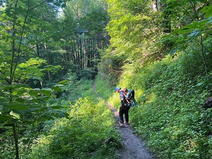 Trail at Otter Falls