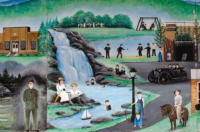 Valdese NC Waldensian Mural