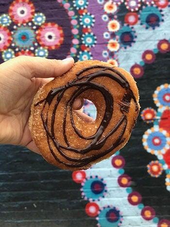Vortex donuts in Asheville