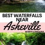Waterfalls near Asheville NC0