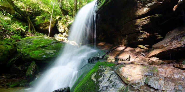 Waterfalls near Boone Blowing Rock and Banner Elk