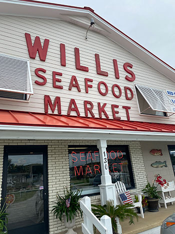 Willis Seafood Market NC