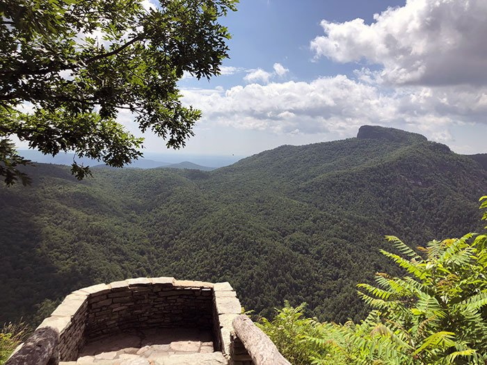 If things to do for you include views, then Wiseman's is a must-drive if you're in Morganton.