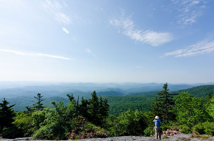 Beacon Heights is an awesome short hike near Otter Falls.