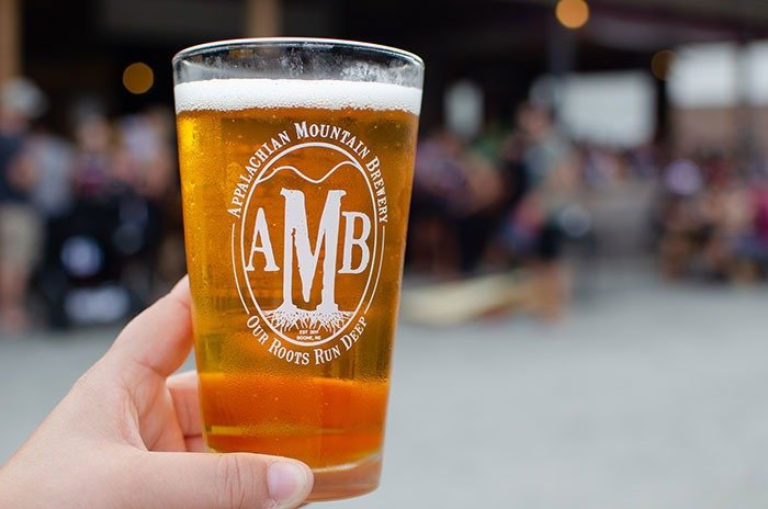 AMB is the biggest name among these breweries in Boone. Such interesting things going on here.