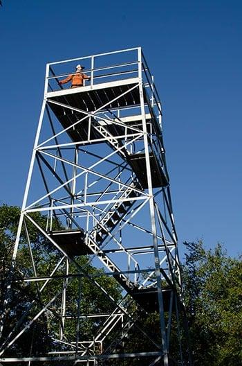 Flat Top Tower Hike Moses Cone Memorial Park NC