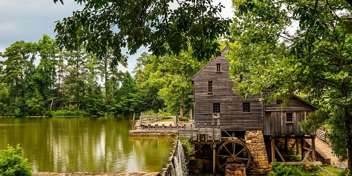 Historic Yates Mill County Park in Raleigh NC is one of our favorite places to visit. Read More to Find Out Why!