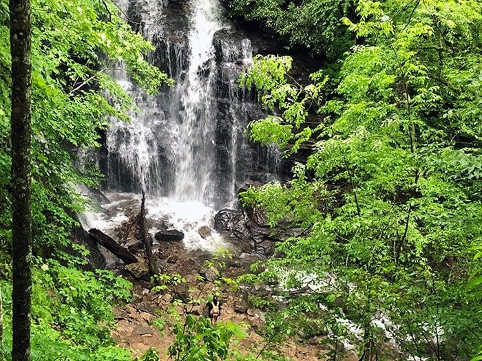Waterfalls near Maggie Valley NC Soco Falls