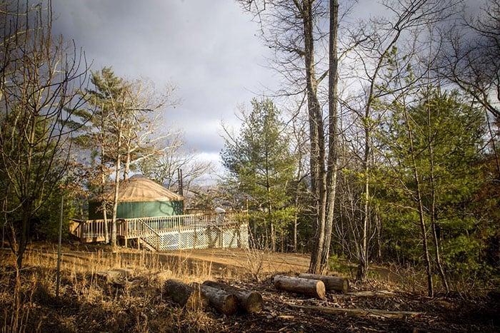 Asheville Yurt