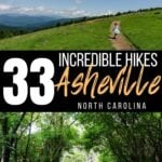 Asheville hikes Pinterest image 1