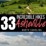 Asheville hikes Pinterest image 2
