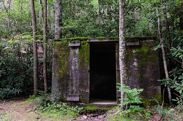 Bunkers at Roaring Fork Falls