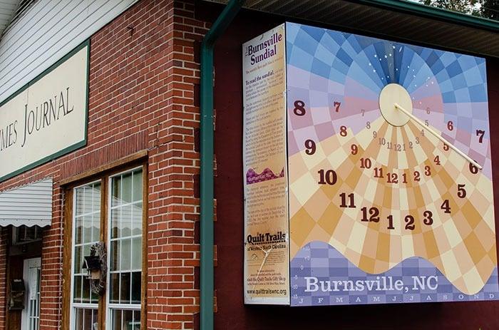Burnsville sundial