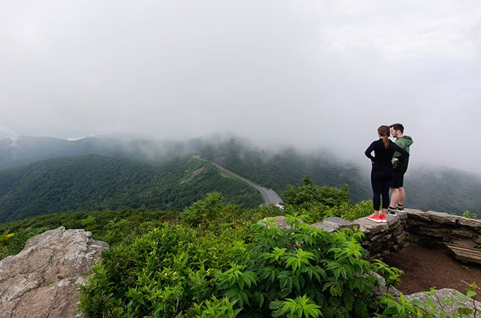 The views alone make Craggy Pinnacle one of our favorite hikes near Asheville!