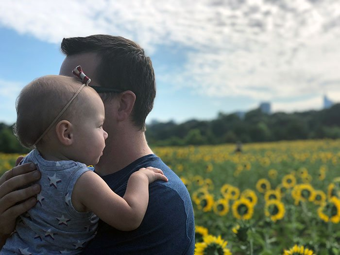 We've been coming to see the sunflowers at Dorothea Dix Park for years!