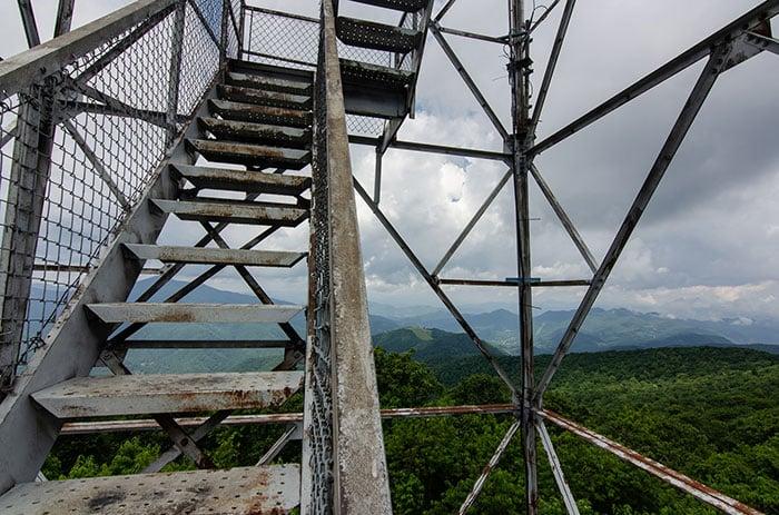 Fryingpan Tower NC Blue Ridge Parkway Stops