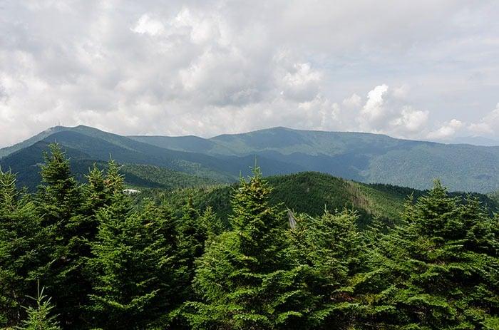 Mt. Mitchell views
