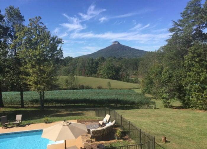 Pilot Mountain Vineyard Airbnb