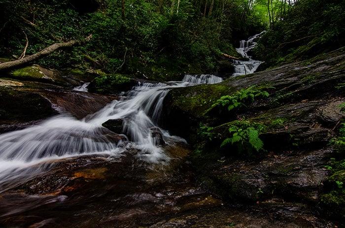Roaring Fork Falls Burnsville 1