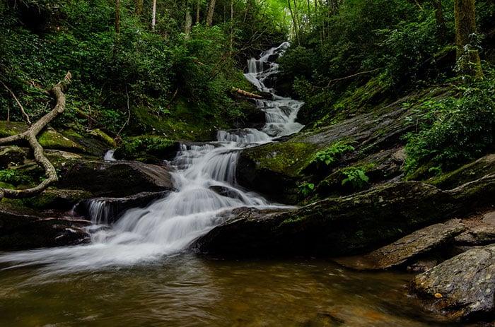 Roaring Fork Falls Mt Mitchell