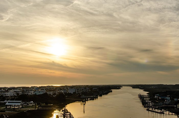 Small Towns in North Carolina Holden Beach in Eastern NC