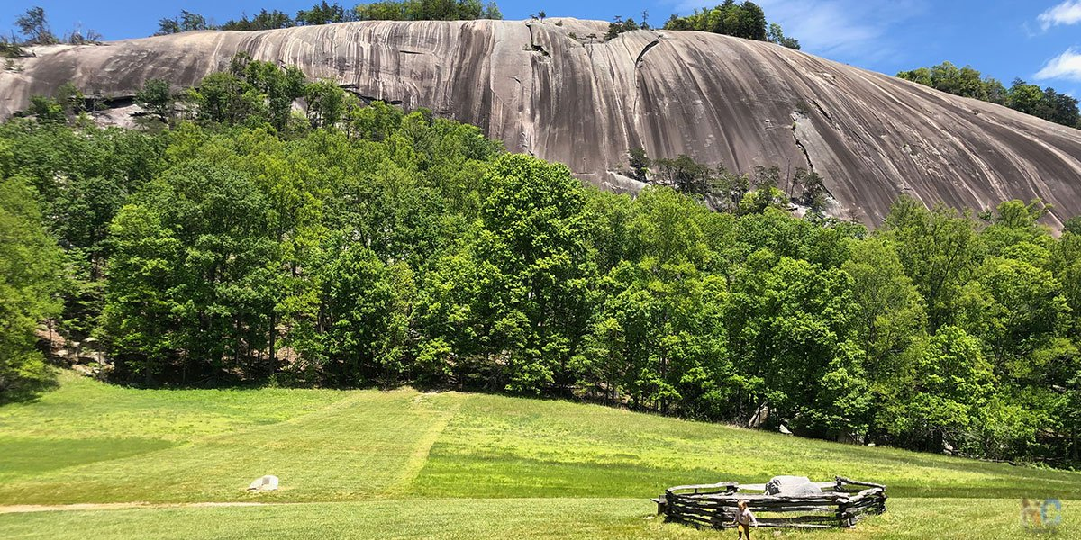 Stone Mountain State Park sits in both Allegheny and Wilkes counties and is one of our favorite parks to visit in Western NC.