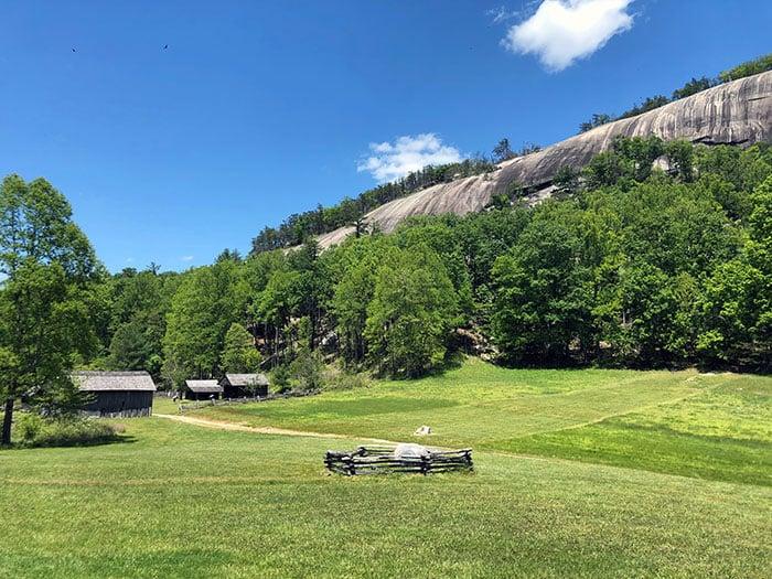 Stone Mountain and Hutchinson Homestead NC