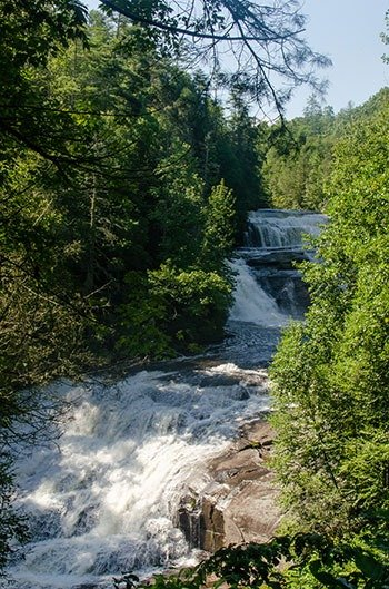 Triple Falls DuPont State Forest