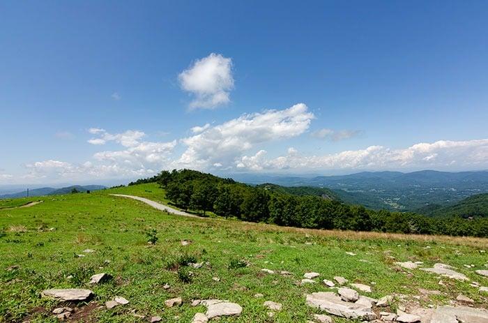 Views from Bearwallow Mountain