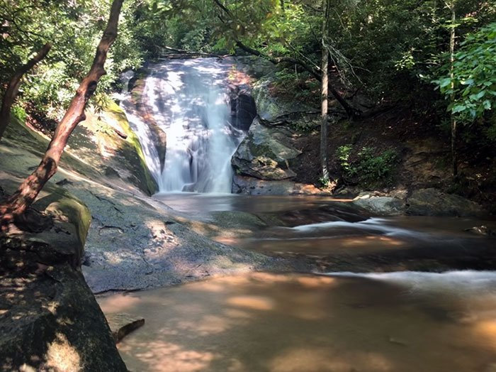 Widows Creek Falls Stone Mountain NC