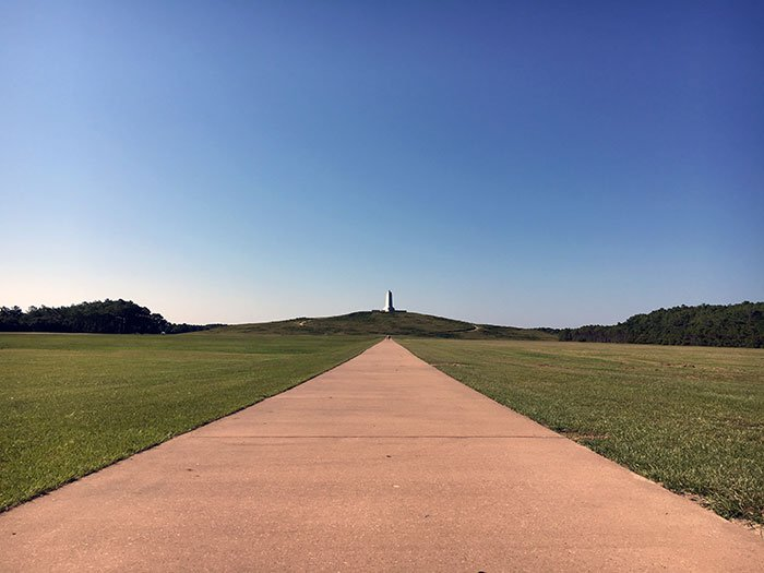 Visiting the Wright Brothers Memorial is one of many reasons Kill Devil Hills is among our favorite Outer Banks towns.