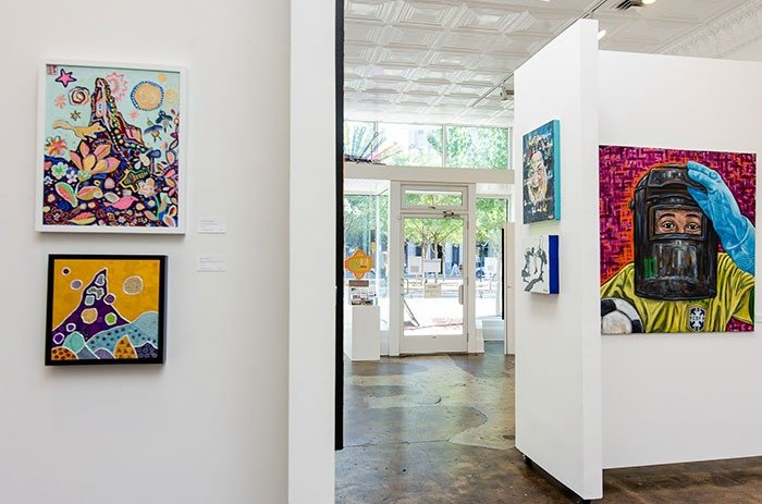 5 Points Gallery in Durham NC