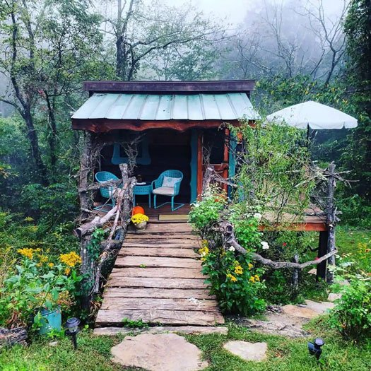 Fairytale Treehouse Cottage near Asheville Image Credit Airbnb