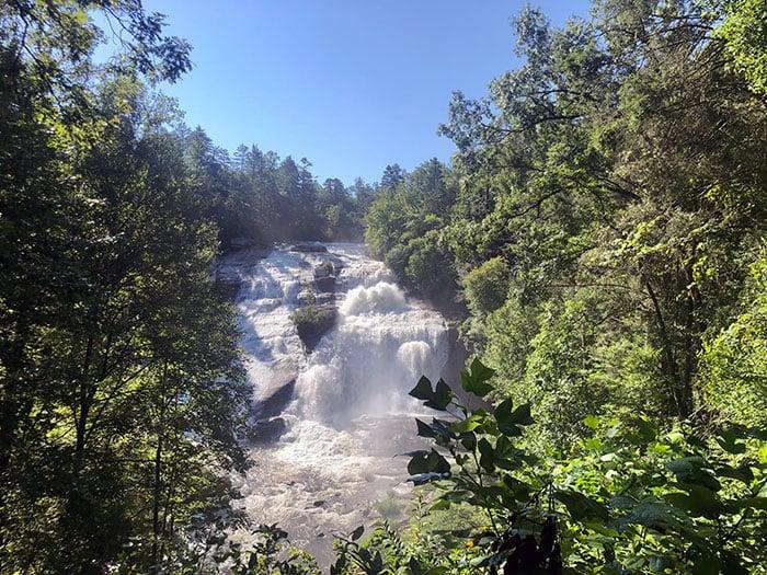 High Falls Waterfalls in North Carolina
