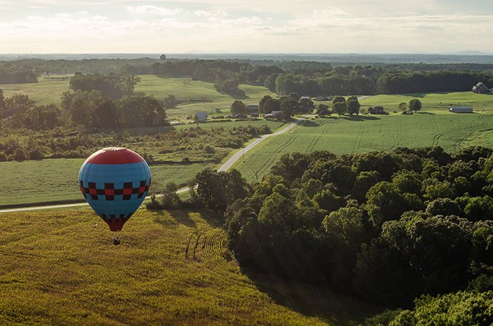 Hot Air Balloon Things to do in Statesville