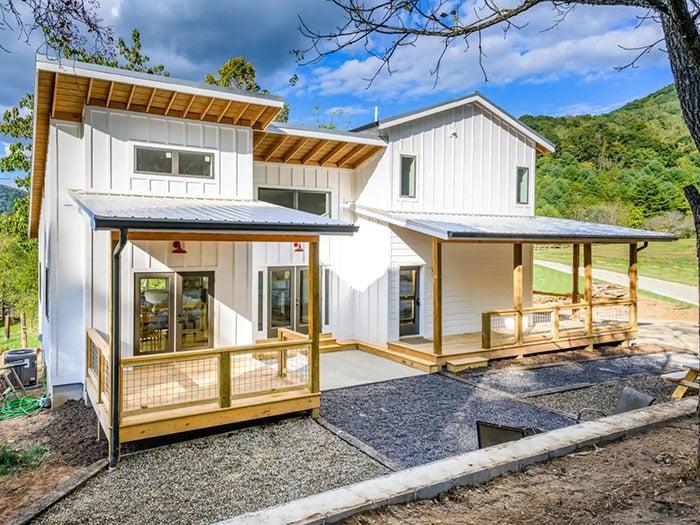 Idyllic Mountain Farmhouse near Asheville Image Credit Airbnb