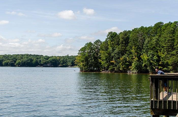 Lake Norman State Park near Statesville NC
