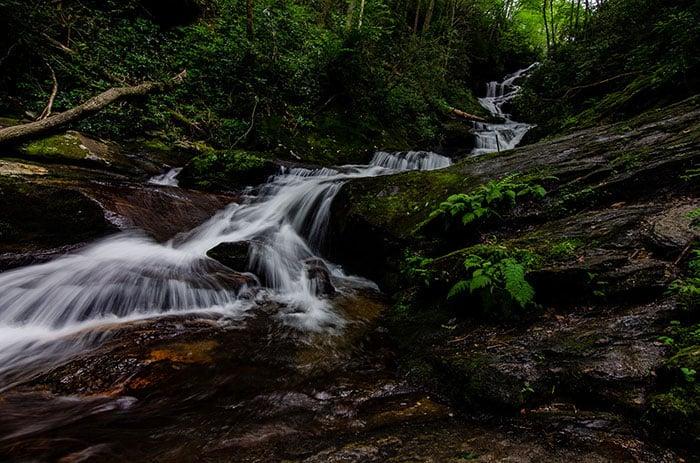 Roaring Fork Falls Burnsville NC