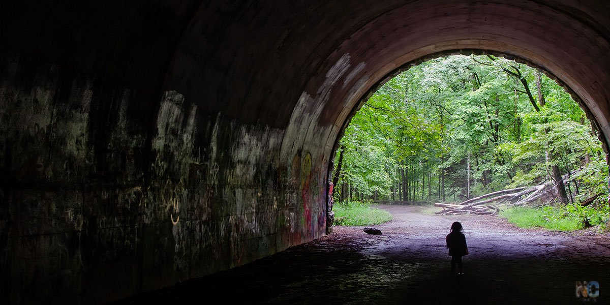 Road to Nowhere near Bryson City is worth a visit, but also a read of this story behind the tunnel's construction through today.