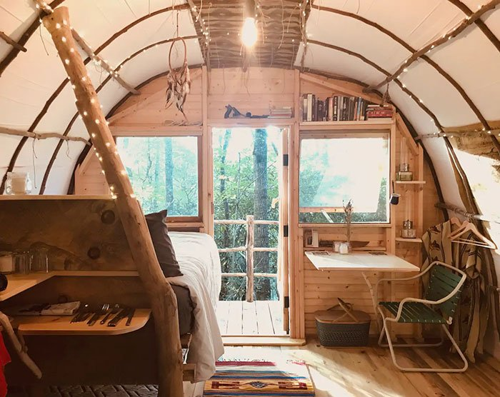 The Roost near Asheville Image Credit Airbnb