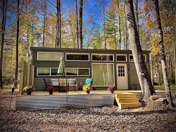 Tiny House near Marion Airbnbs in Asheville Image Courtesy of Airbnb