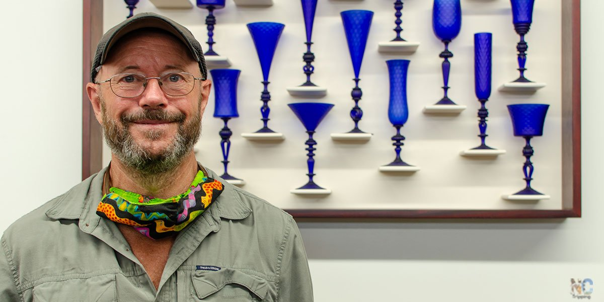Kenny Pieper Glass is one of many Toe River Artists you should visit!