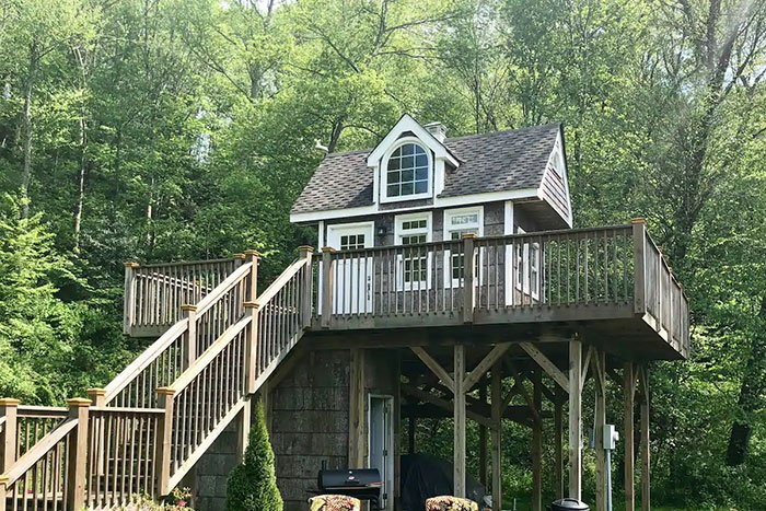 Treehouse Camp Retreat Image Credit Airbnb