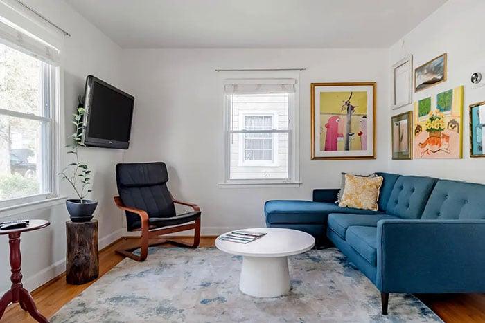 Artsy Charm Durham Airbnb