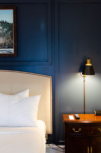 Bedside at The Dunhill
