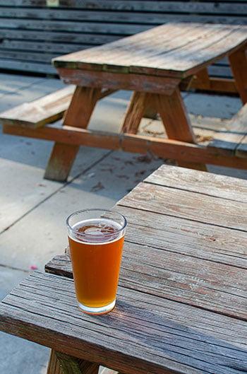 Beer at Rocky Mount Mills