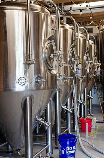 Beer incubator in Rocky Mount Mills