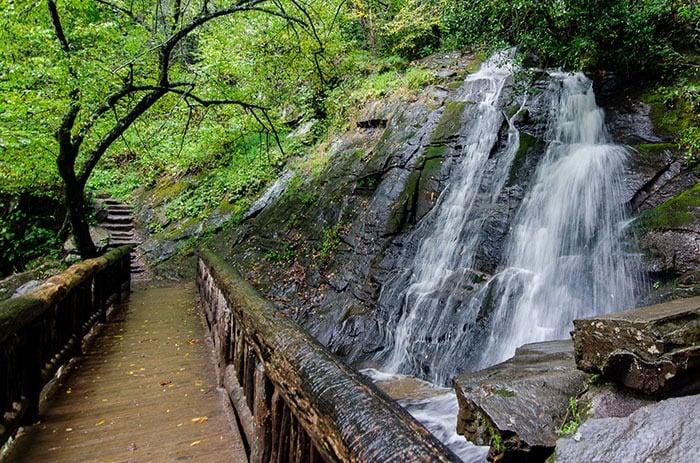 Deep Creek Trail Juney Whank Falls 1